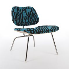 Eames LCM, with Alexander Girard fabric, for Herman Miller