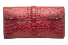 Zink Collection - Beatrice Clutch - Red Crocodile , $1,195 (http://www.zinkcollection.com/beatrice-clutch-red-crocodile/)