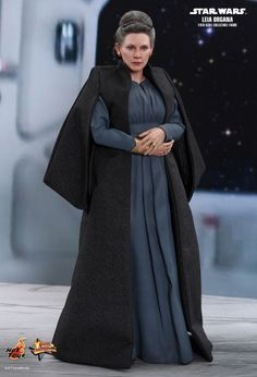 Buy Star Wars - Leia Organa Episode VIII The Last Jedi Scale Action Figure Figurine: Star Wars: Episode Viii, Figurines & Statues, Merchandise Online Now at the Australian based Sanity Movie Store. Star Wars Film, Star Wars Cast, Star Wars Logos, Carrie Fisher, Leia Costume, Tv Icon, Fanart, Star Wars Outfits, Star Wars Costumes