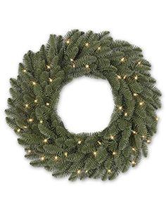 48″ Balsam Hill Shasta Fir Artificial Christmas Wreath – Clear  http://www.fivedollarmarket.com/48-balsam-hill-shasta-fir-artificial-christmas-wreath-clear/