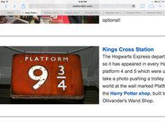 Where it started. Hufflepuff Pride, Hogwarts, Harry Potter, Train, London