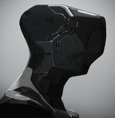 3D coat Helmet Design, Anthony Jones on ArtStation at https://www.artstation.com/artwork/LbGRk