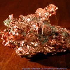 Naturally occurring copper