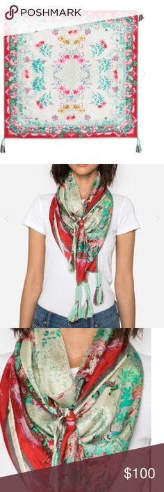 Johnny Was scarf Johnny Was WHISPER SCARF.    NEW.      OPEN TO OFFERS Johnny Was Accessories Scarves & Wraps