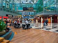 Singapore Changi Airport. I'd definitely spend a lot of time here to see whether it lives up to all the hype