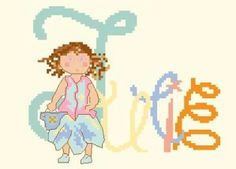 Cross Stitch, Family Guy, Blog, Fictional Characters, Sons, Embroidery, Punto De Cruz, Seed Stitch, Punto Croce