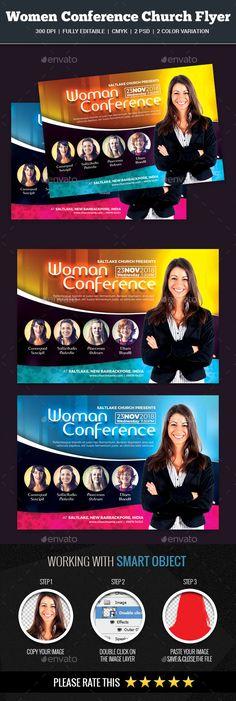 Worship Concert Flyer Church\/Gospel Templates Pinterest - conference flyer template