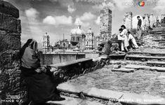 Fotos de Ciudad de México, Distrito Federal, México: Subida al Cerrito, en la Basílica de Guadalupe