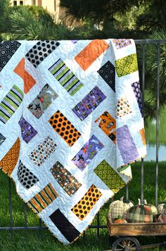 Costume Clubhouse Halloween Quilt FREE US by LittlePincushion