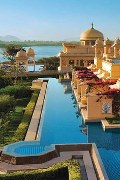 #ExoticHotels #TheOberoiUdaivilasHotel, #Udaipur  #Rajasthan # India        www.booking.com/hotel/in/the-oberoi-udaivilas.en-gb.html?aid=305842&label=pin