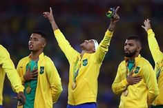 20.08.16 Brasil Campeão Olímpico !! #Neymarjr #Neymar #SeleçãoBrasileira #Olimpiadas #olimpiadasrio2016 ❤