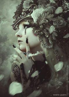 Dark art portrait queens 52 Ideas for 2019 Dark Fantasy Art, Dark Art, Portrait Sombre, Character Art, Character Design, Poses References, Gothic Art, Fantastic Art, Dark Beauty
