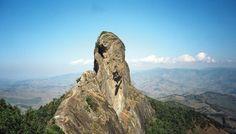 A Pedra do Baú, situada em São Bento do Sapucaí