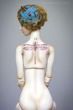 tattoo doll... Love it