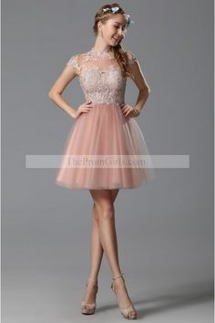 2015 Cocktail Dresses Sweetheart Sleeveless Short/Mini Tulle With Ruffles