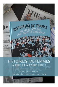 Une BD qui revient avec pédagogie et humour sur le mouvement pour que les droits des femmes soient reconnus. Lisez mon avis complet sur Histoire(s) de femmes de Marta Breen et Jenny Jordahl en cliquant sur l'image. #droitdesfemmes #feminisme #bdhistorique #bd #bandedessinnee #martabreen #jennyjordahl #larousse #litterature #chroniquelitteraire