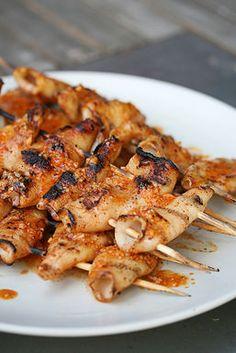 Spicy Grilled Calamari by Izzbell: Oh yum! #Calamari #Izzbell