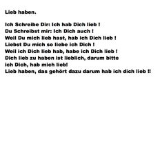 Lieb haben.. Poetry, Funny Sayings, Writing, Love