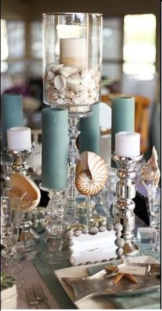 Seashell Tablescape
