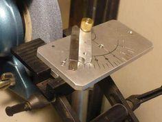 Lathe Tool Sharpening Jig