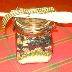 Homemade Kitchen Jar Gifts