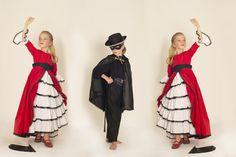 #robe #déguisement #fancy #dress #Ivoy #zorro #elena #danseuse #espagnole www.ivoyparis.com