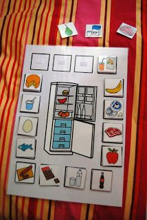 Qué meto en la nevera Teaching Spanish, Teaching English, Teaching Kids, Teaching Resources, Learn English, Speech Language Therapy, Speech And Language, Speech Therapy, File Folder Activities