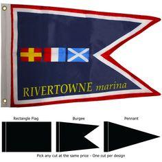 custom burgee flags
