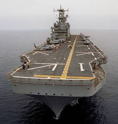 LHA-1 USS Tarawa flight deck view