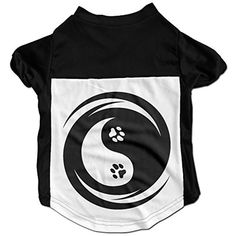 Yin Yang Cat Paw Cute Pet Shirt For Small Dogs Cats -- Read more at the image link. (This is an affiliate link) #DogApparelAccessories