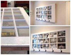 Gamle fyldningsdøre – her forvandlet til fotocollager