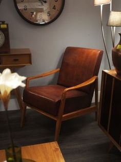 Low Slung Mid Century Style Chairs