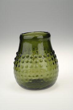 "reproduction of Frankish ""grape"" beaker found in a grave in Björkö, Sweden (Historiska museet, Sweden)"
