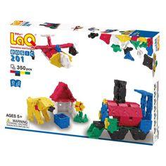 LaQ Construction Toys Basic 201 - 350pcs | Buy Building Blocks