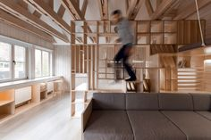 Workroom Architects - Picture gallery #architecture #interiordesign #wood #workspace