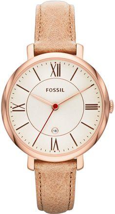 Fossil Jacqueline Rose Gold brown ref. number ES3487
