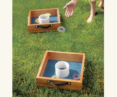 Washer Pitch Game