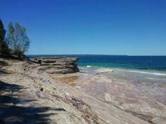 Pictured Rocks National lakeshore, Upper Peninsula, Michigan