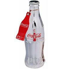Coca-Cola 100 Years Limited Edition Silver Bottle from Cola Cola Store