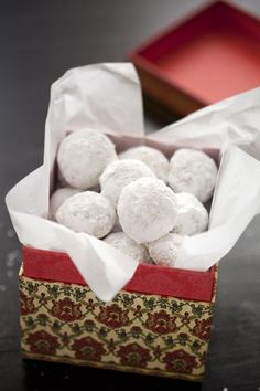 Russian Tea Cakes or Mexican Wedding Cakes  (My favorite cookie - well, 1 of them).