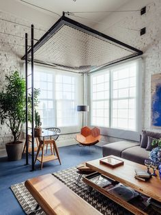 Interior Living Room Design Trends for 2019 - Interior Design Small Space Interior Design, Home Room Design, Home Interior Design, House Design, Room Ideas Bedroom, Bedroom Decor, Home Living Room, Living Spaces, House Rooms