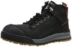 Scruffs Switchback Boot, Chaussures de sécurité homme – Noir – noir, 43