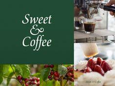 Sweet & Coffee designed by Jonathan Ortiz. Sweet Coffee, Walnut Creek, Coffee Design, Food, Meal, Eten, Meals