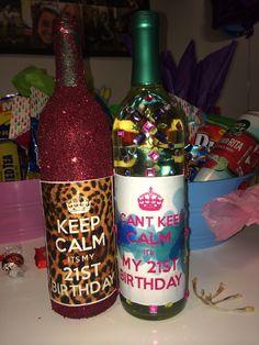 21st birthday ideas!