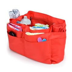 diaper bag organizer insert $49.00 <3!!!!! Comes in large and medium sizes, and bright coral or tan colors