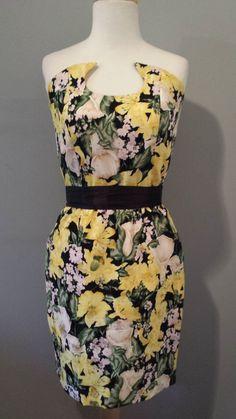 Etsy listing at https://www.etsy.com/listing/182803848/90s-silk-fe-zandi-floral-dress, Instant Vintage 78