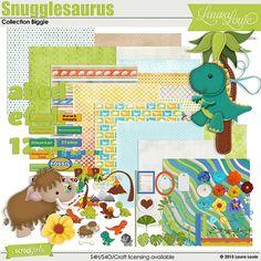 Snugglesaurus Collection Biggie
