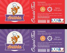 Logo and label design for Petis Udang Ananta, Indonesia.  #label #logo #design #shrimp #indonesia