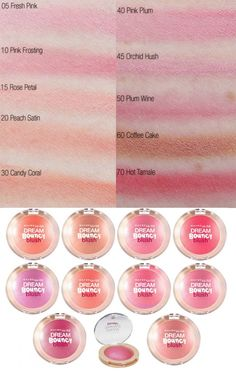 Maybelline Dream Bouncy Blush Gotta love this stuff - the lighter shades looks so fresh and natural!
