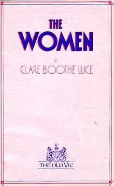 The Women Old Vic Theatre Programme 1986 with Maria Aitken & Julia Foster